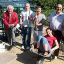 Tweet The group today on the allotments! #lookinggood #l…